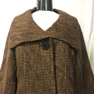 Tribal Women's Blazer Brown Tweed Size 10